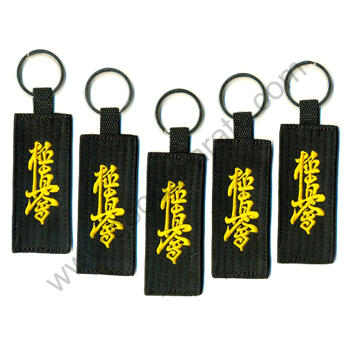 BLACK KYOKUSHINKAI KEY RINGS