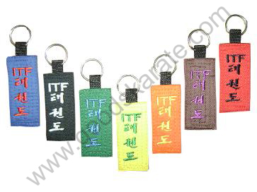ITF COLORS KEYRINGS