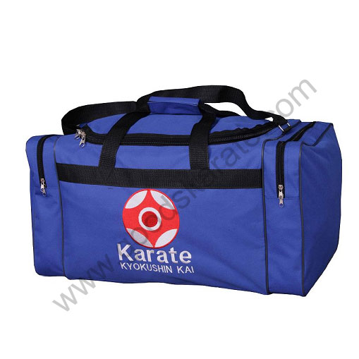 SPORTS BAGS BLUE KYOKUSHINKAI