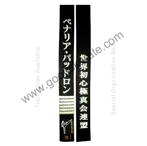 SPECIAL ORGANIZATION BELTS