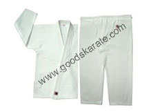 White bjj gi without Custom Patches