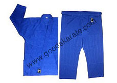BLUE BJJ Gi Without Custom Patches