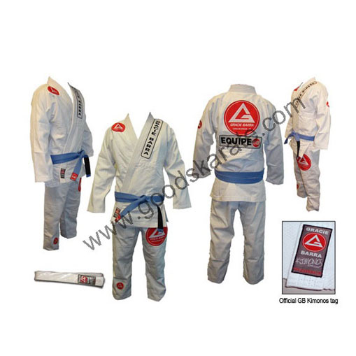 Gracie Barra White Gi