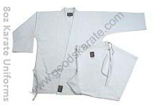 KARATE UNIFORMS 8oz
