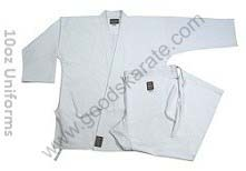 KARATE UNIFORMS 10oz