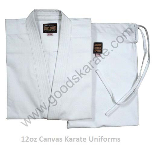 KARATE UNIFORMS 12oz