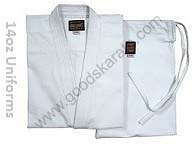 KARATE UNIFORMS 14oz