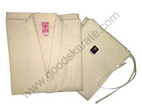 KARATE UNIFORMS UNBLEACHED