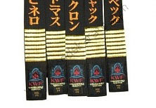KYOKUSHIN WORLD FEDERATION BELTS