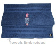 TOWELS EMBROIDED
