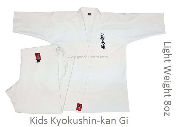 Light Weight 8oz Kykushin-kan Gi