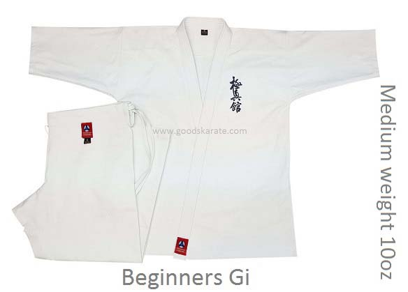 Medium Weight 10oz Kyokushin-kan Gi