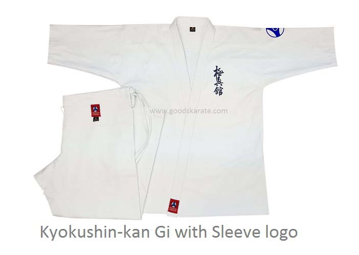 Kyokushin-kan Gi with Sleeve logo