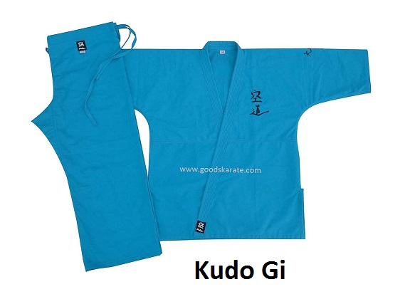 Kudo Gi Blue Color