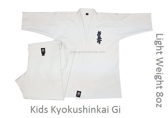 Light Weight 8oz Kyokushinkai Gi