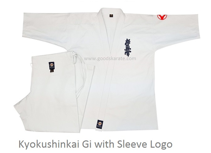 Kyokushinkai Gi with Sleeve logo