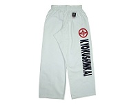 White Kyokushinkai Trousers