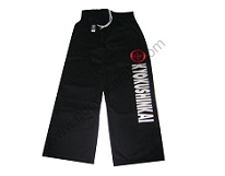 Black Kyokushinkai Trousers